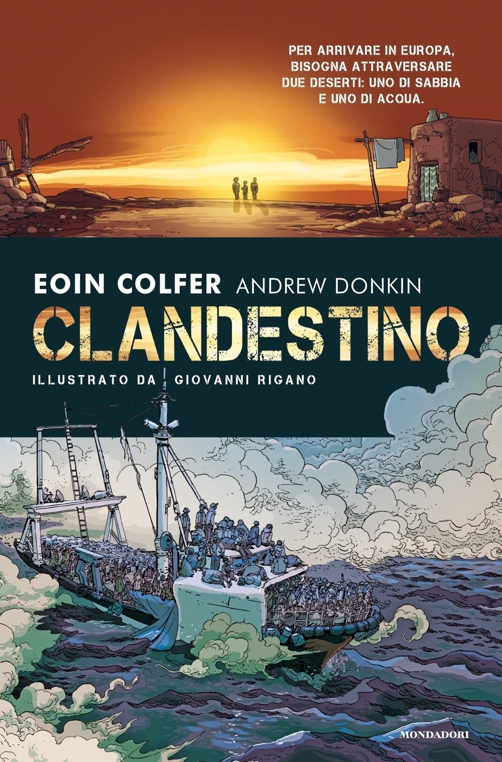 Recensione di Clandestino – Colfer-Donkin – Illustr. Giovanni Rigano
