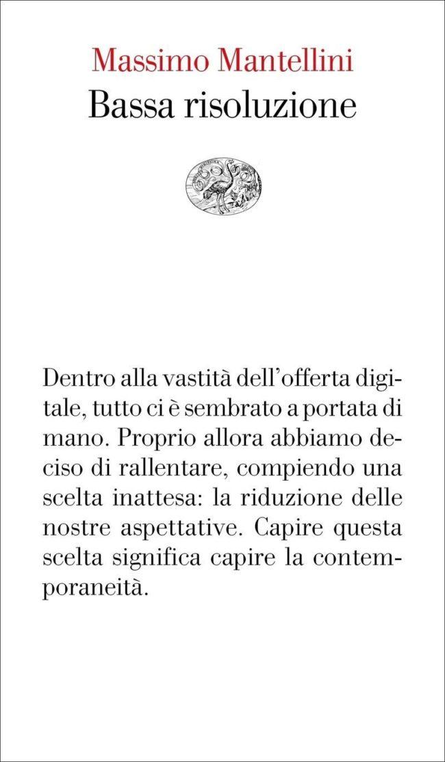 Recensione di Bassa Risoluzione – Massimo Mantellini