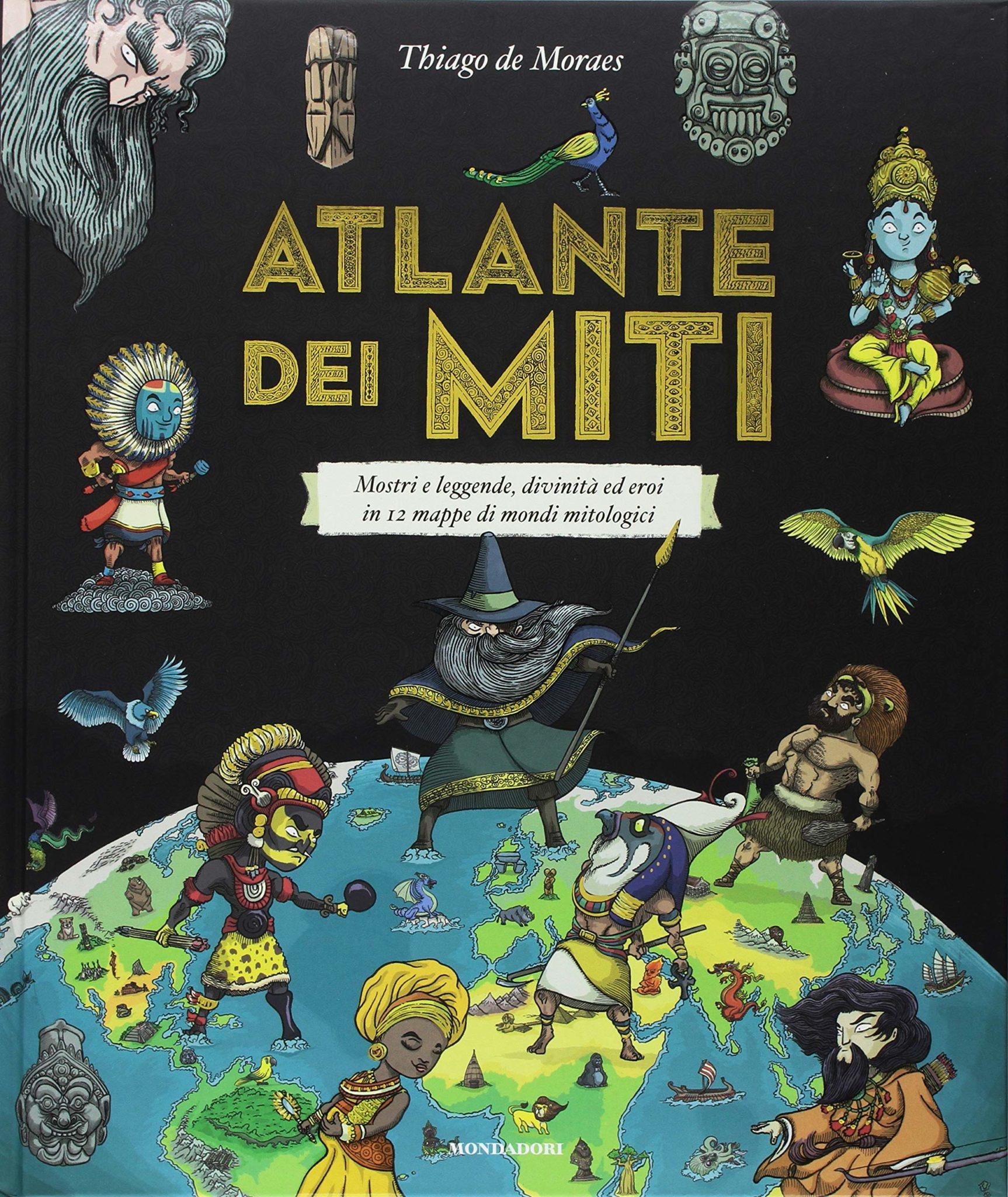 Recensione di Atlante Dei Miti – Thiago De Moraes