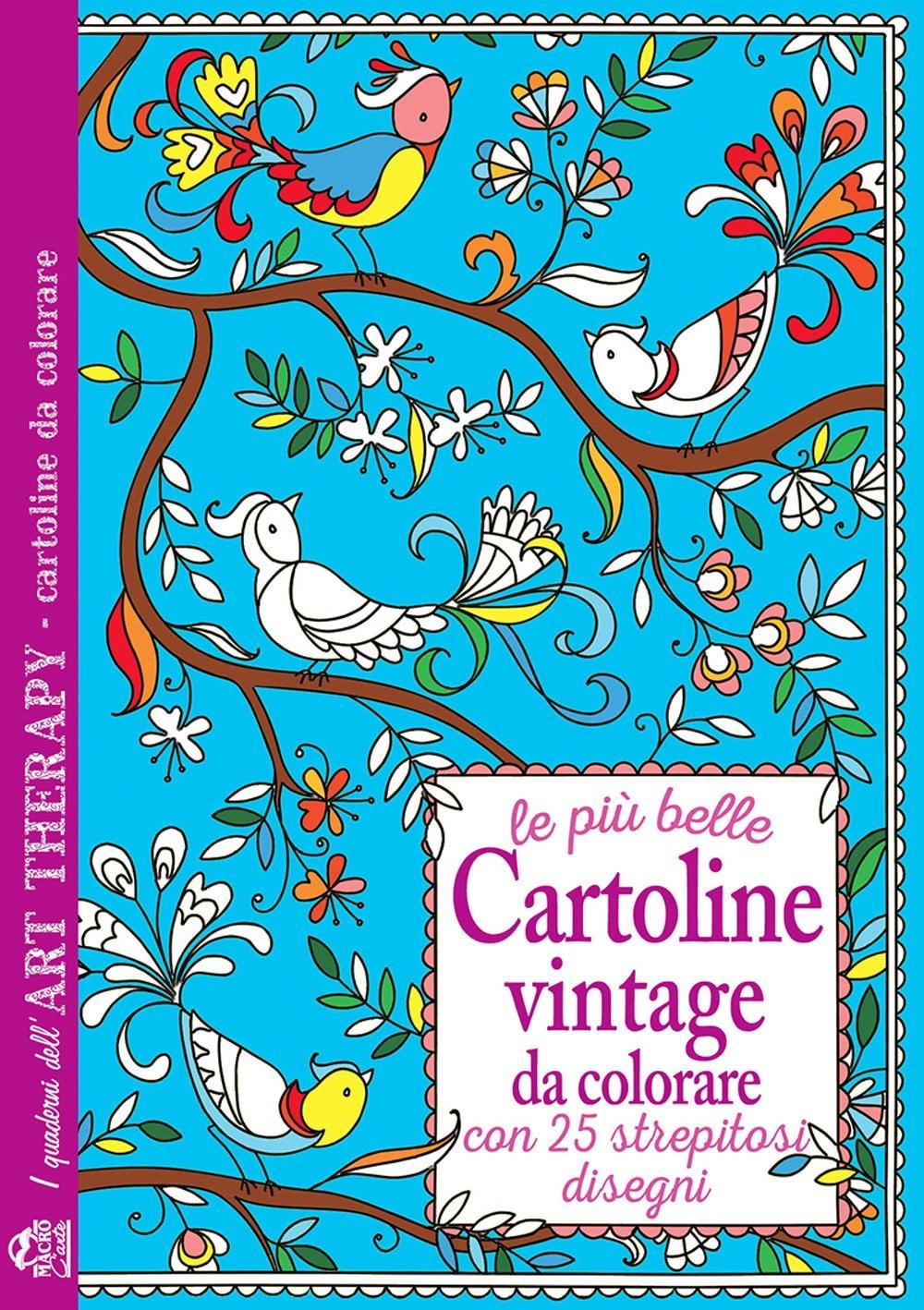 Recensione di Le Più Belle Cartoline Vintage Da Colorare – AA VV