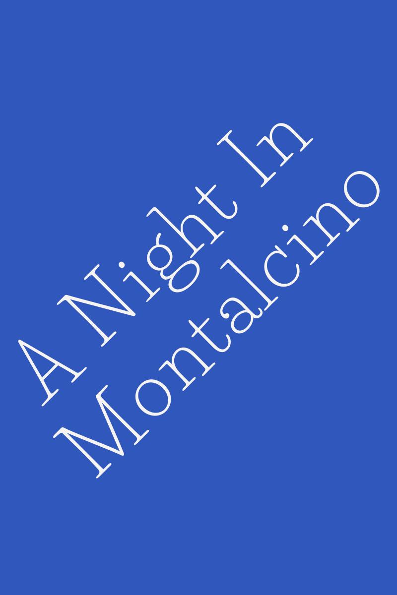 Recensione di A Night In Montalcino