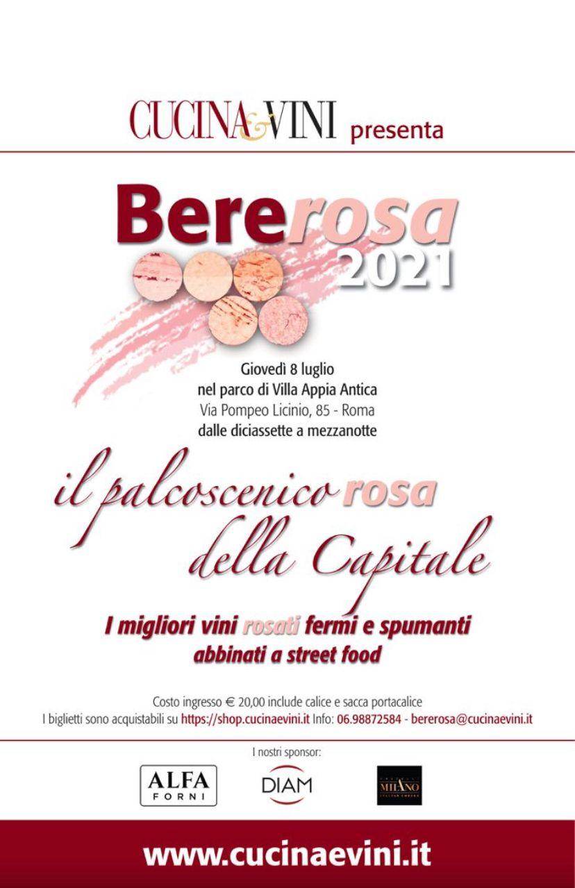 Recensione di Bererosa 2021 – Cucina&Vini
