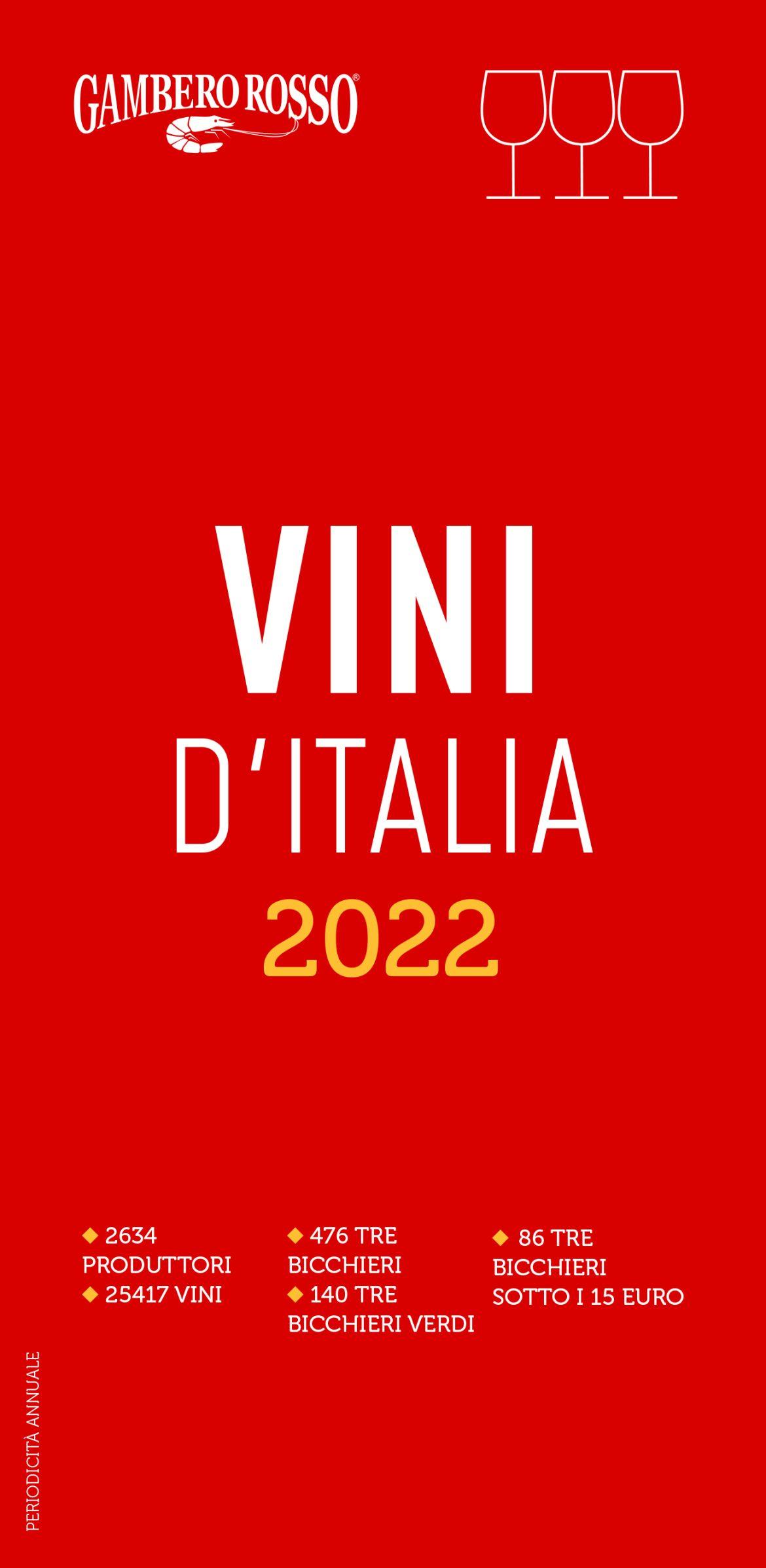 Recensione di Vini D'Italia 2022 – Gambero Rosso